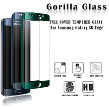 Import China products full cover 9h tempered glass screen protector for samsung galaxy s6 edge screen protector
