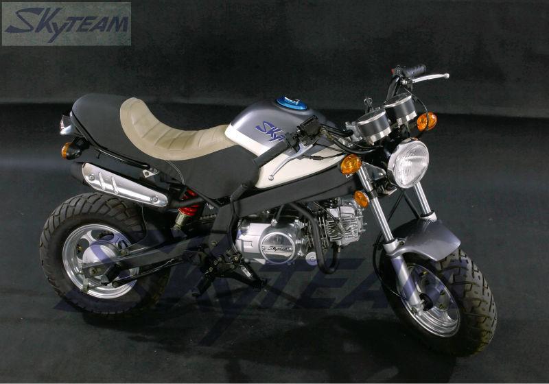 skyteam 125cc 4 takt nieuwe cafe pbr msx stijl fiets zb50. Black Bedroom Furniture Sets. Home Design Ideas