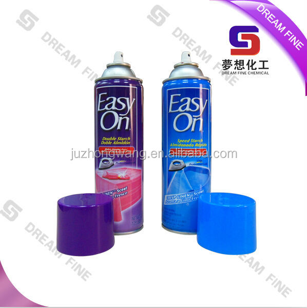 OEM brand clothes Ironing starch spray speed ironing starch spray
