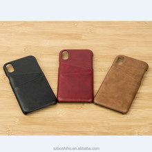 Genuine Leather phone case for iphone 8 wallet phone case cell phone accessories mobile case