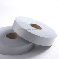 Cotton polyester reflective fabric tape