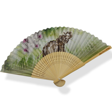 China gold manufacturer super quality fancy gift craft hand fan