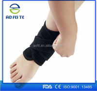 Adjustable neoprene Ankle Support Strap Wrap Compression Brace One Size for Gym