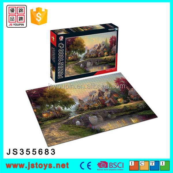 hot sale 1000 pieces jigsaw puzzle for kids