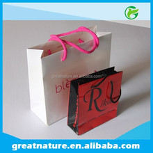 Recycled bulk custom made paper gift bags
