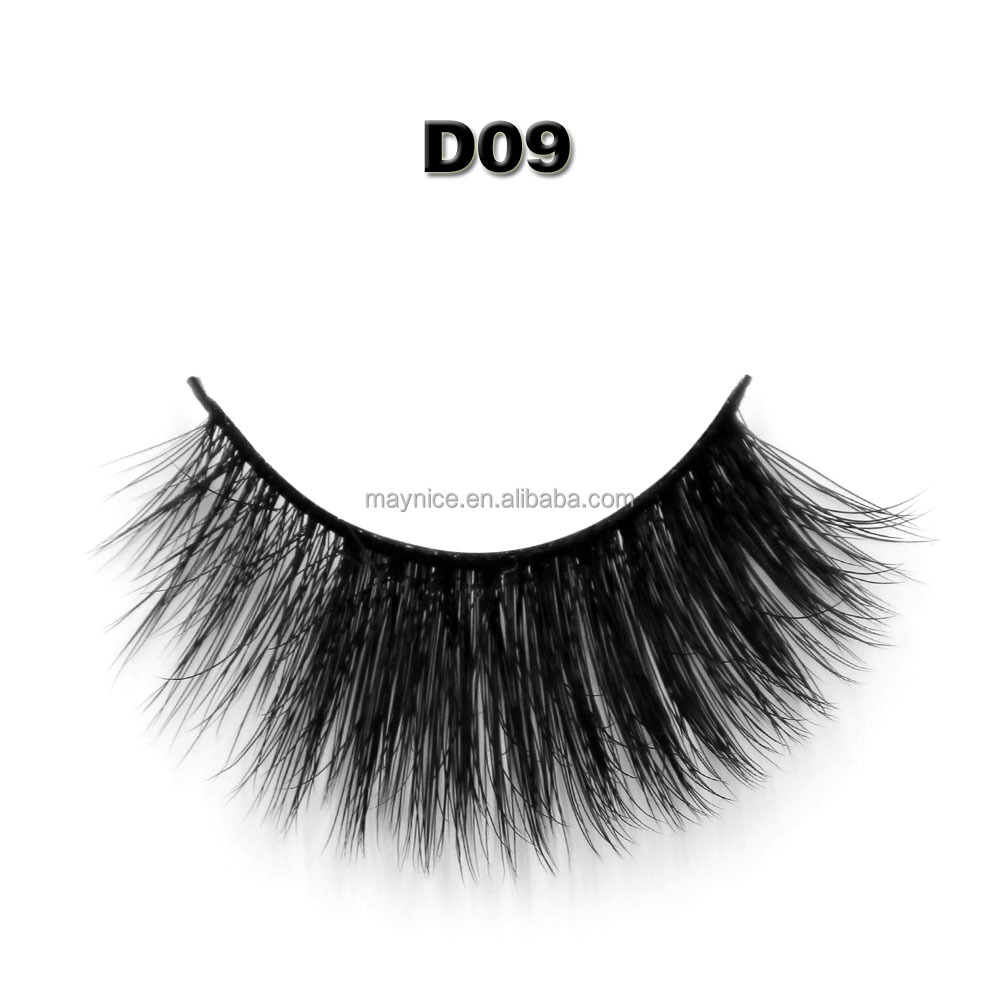 Maynice hot sale product! premium silk lashes D09