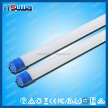 Excellent low power consumption t8 yellow fluorescent tube with rotatable end caps
