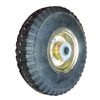 "10""x3.00-4 top quality solid rubber wheel for hand trolley"