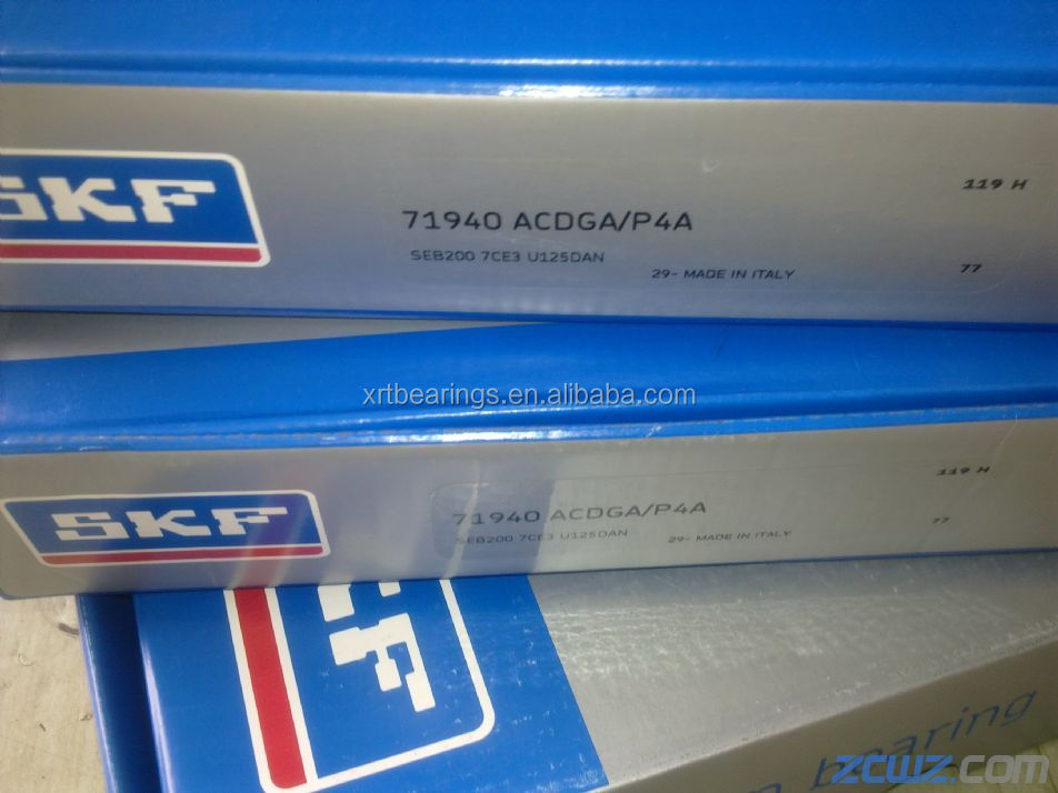 SKF 71940ACDGA/P4A Angular Contact Ball Bearing (200x280x38mm) High Speed SKF 71940 ACDGA/P4A Spindle bearings