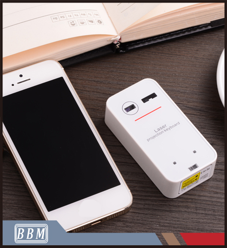 Bluetooth connection mouse function virtual infrared laser keyboard for tablet and mobile phone