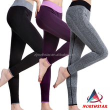 4 colors Nylon spandex seemless sport/running/yoga pants