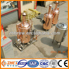 red copper tank used brewery equipment for sale OEM