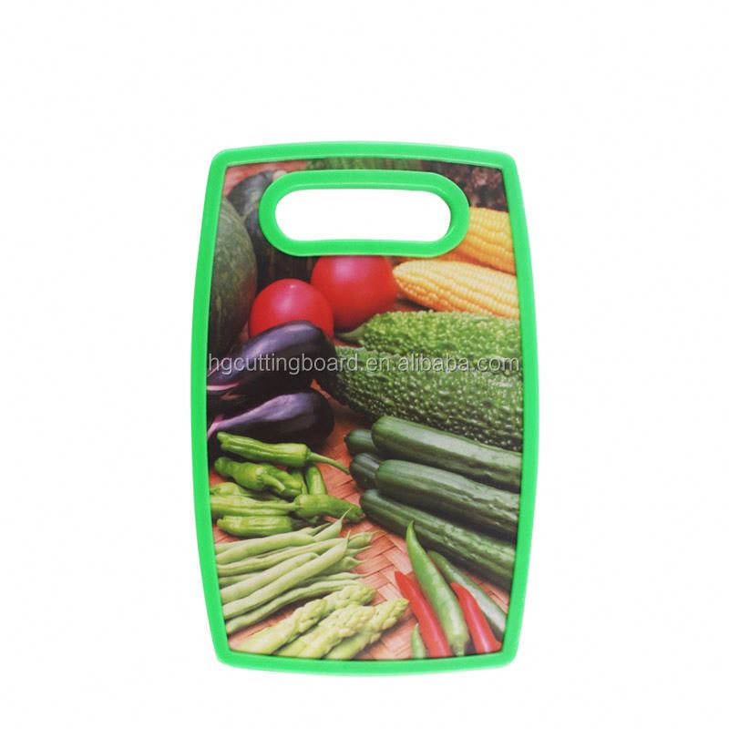 New and hot pragmatic fruit flexible cutting chopping board plastic