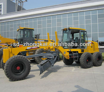 xugong GR180 Motor Grader with front blade and rear ripper