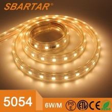 SBARTAR LED Strip 5054 SMD Waterproof IP67 Strip Light Voltage AC 220V LED Flexible Strips 60leds/m Epistar 5054SMD LED Lighting