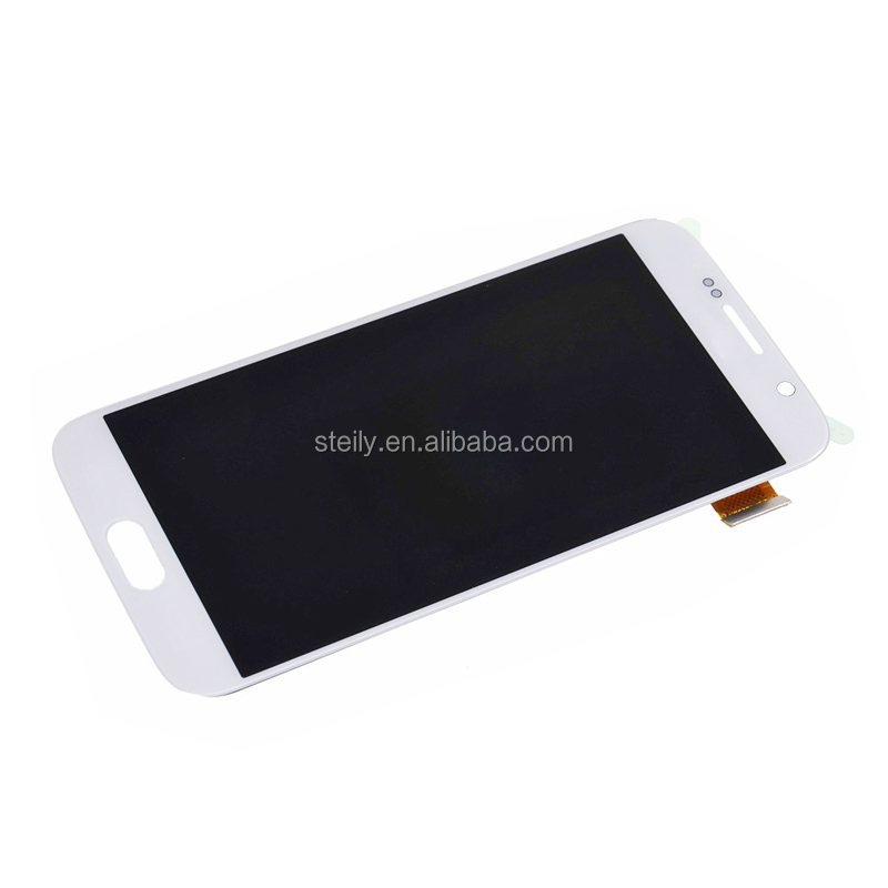 Gold Supplier For Samsung Galaxy S6 LCD Screen, For Samsung S6 LCD, For Samsung Galaxy S6 Lcd Digitizer Assembly Blue/White