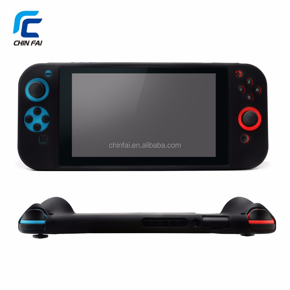 FDA ,CPSIA certificates Silicone Protective case for Nintendo Switch Joy-con controllers and console with rubber spray