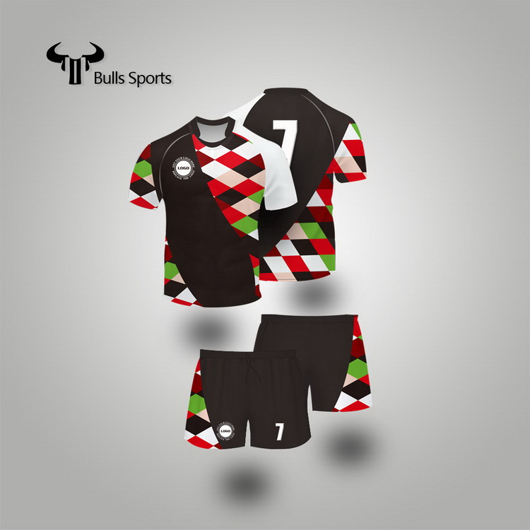 Rugby Football Wear for team set rugby jersey from China OEM/ODM service for sports ware