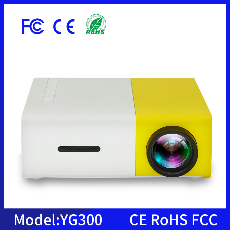 YG300 portable mini projector full hd 3d led projector data show projector