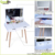 New sale dressing table wooden dressing table with full-length mirror & drawers
