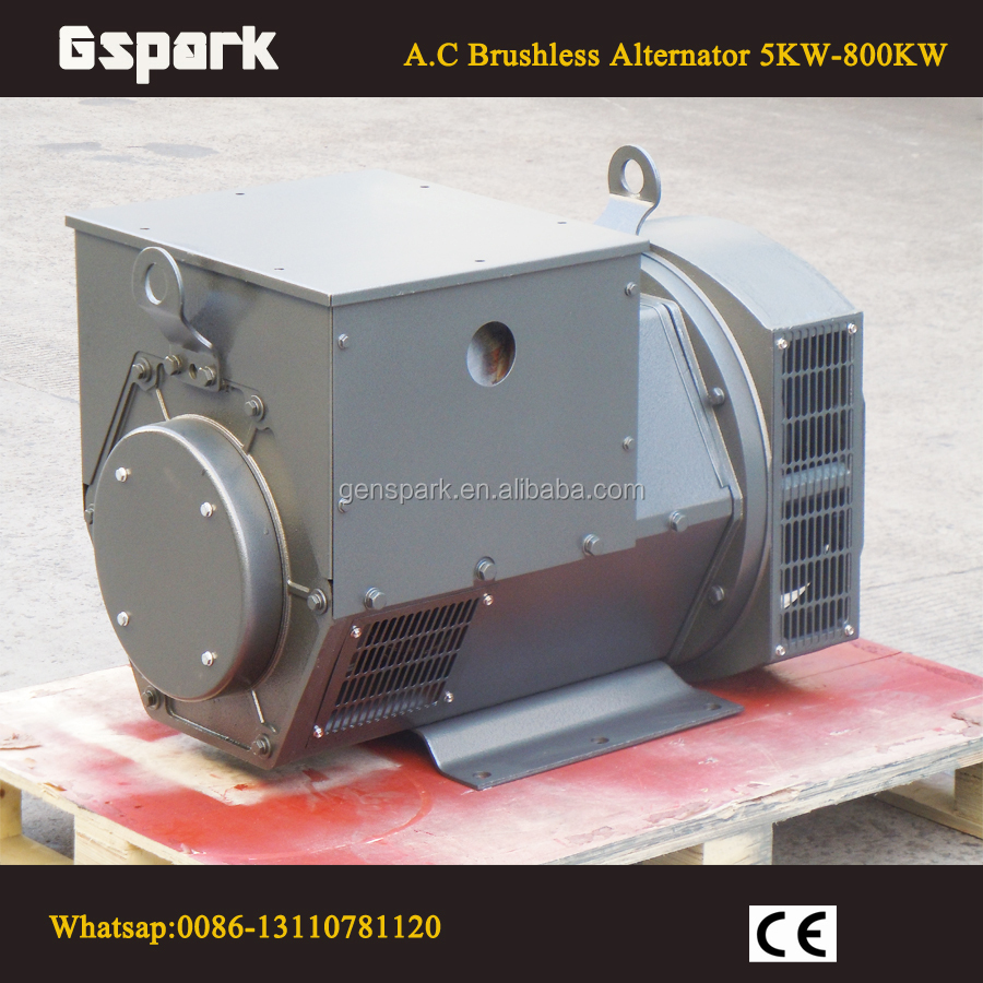 Stamford Type Brushless 1500rpm 230V 3 phase Alternator 50KW