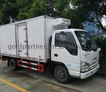 8x4 ISUZU cargo truck 8ton refrigerated van trucks sale 8*4 box