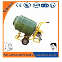 Quality Choice 2016 New portable concrete mixer with plastic drum