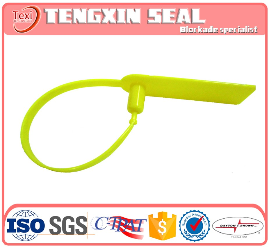 disposable container lock plastic security seal