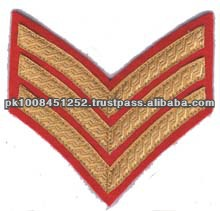 Chevrons Embroidery Ranks Military rank