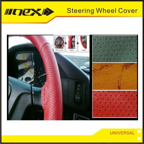 Deluxe Auto Car Channel Steering Wheel Cover