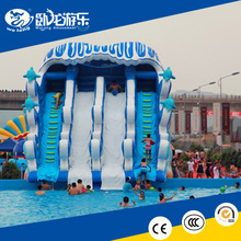 Outdoor funny kids water slide inflatable for sale