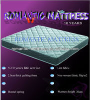 natural latex orthopacdic compressed spring mattress/cheap goods from China compressed pocket spring mattress
