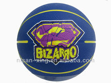 High quality hot sale promotional rubber basketball