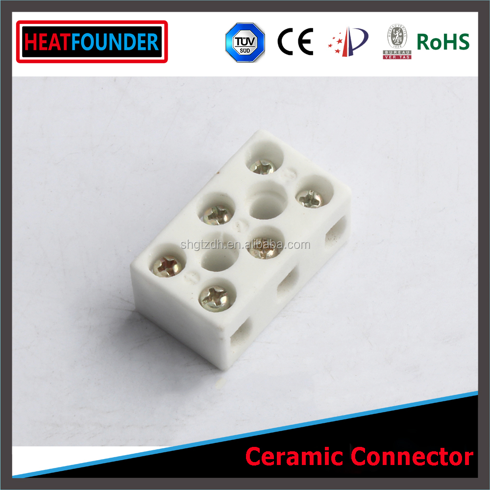 SHGTZDH Wire connector alumina ceramic connector e clamp wire connector