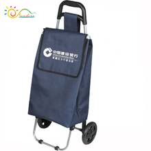 Shopping trolley and cart 3 wheels car for sale