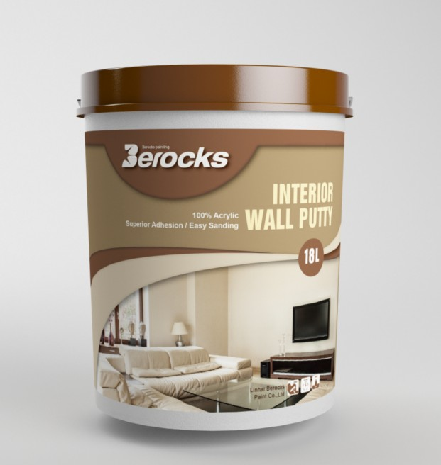 100%water based interior wall putty