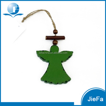 paper mache/paper pulp hanging angel for christmas tree decoration