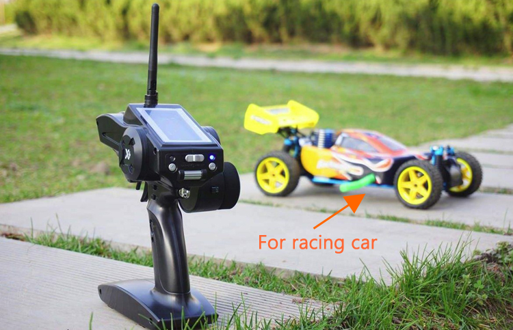 Wfly 4 Channel Transmitter dan Receiver RC Mobil WFX4 WFR04H RC Control Mobil
