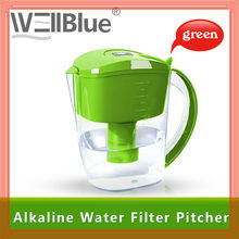 Shenzhen Wellblue Enhanced Water Plastic Pitcher With Nature Mineral Ball For Better Life
