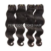 Top Quality Very Gloosy Human Colored Three Tone Hair Weave