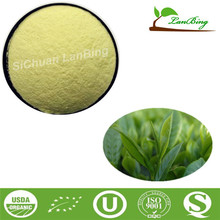 LanBing supply egcg green tea extract pharmaceutical grade tea tree powder green tea saponin