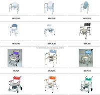 Folding Toilet Commode Chair