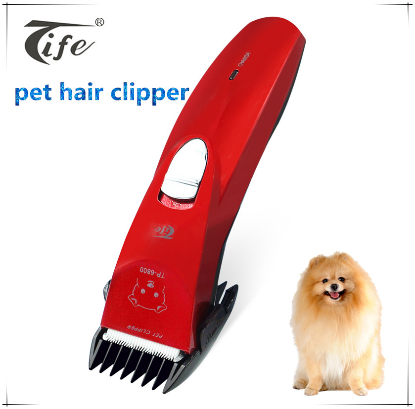 New sale high quality electric digital rechargeable battery for pet dog hair clipper blade