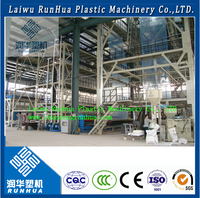40/60 mil hdpe liner durable plastic wide greenhouse film blowing machine