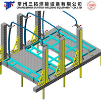 Combined Casting Welding Table Jigs for Car Frame Welding