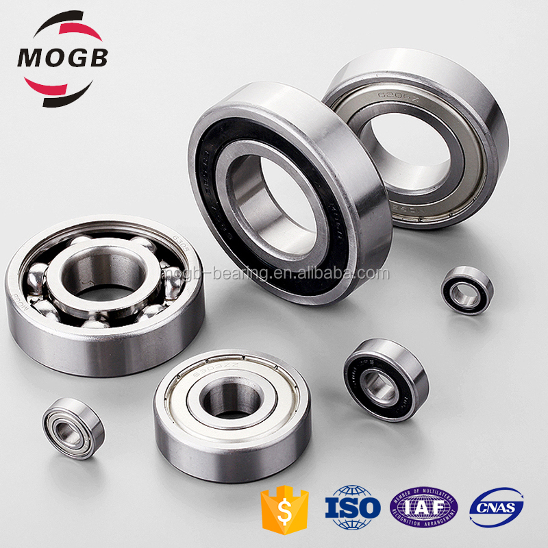Reasonable price deep groove ball bearings lock nut