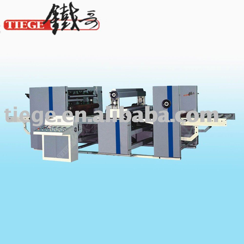 Woodworking Paper Laminating Machine For Wood Based Panel