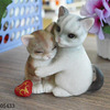 Lovable Couple Cute Cat Amp Dog