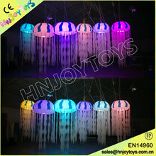 Hot sale led jellyfish light,colorful inflatable jellyfish for party decoration