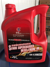 High quality base oil diesel oil CH-4 20W-50 with REACH certification